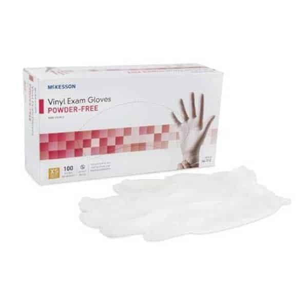 Powder Free Vinyl Exam Gloves Box