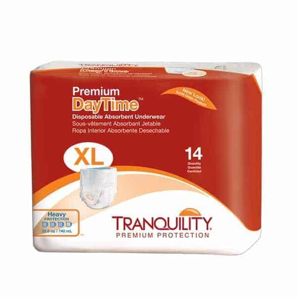 Tranquility Premium DayTime Pull On Underwear Extra Large Size