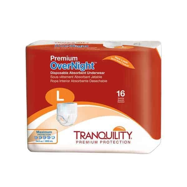 Tranquility Premium Overnight Pull On Underwear Large Size