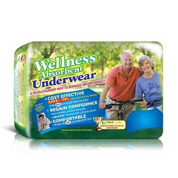 Wellness Pull Up Adult Underwear Briefs
