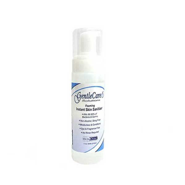 GentleCare Alcohol Free Hand Sanitizer 7 ounce desktop size bottle